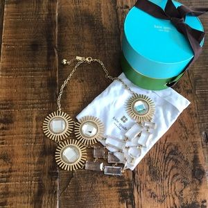 Kate Spade Sunburst Necklace